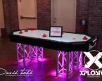6 Player LED Air Hockey