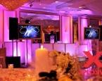 Wedding setup with twin 60