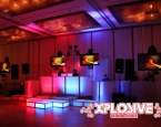 Fire & Ice Themed Prom Setup