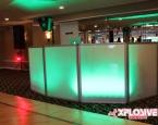 Green setup with standard lighting