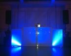 Basic LED DJ booth facade