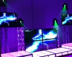 Video Booth with LED staging