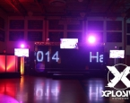LED Curtain at Post Graduation Event