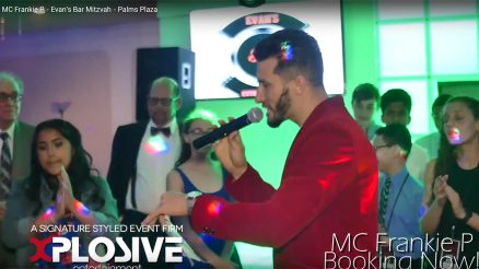 MC Frankie P Evan'sBar Mitzvah